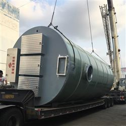 JZ-1200-2000农田灌溉一体化污水提升泵站设备