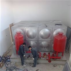 4×3×2厂价直销屋顶箱泵一体化 消防稳压设备