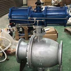 Q647F气动喷煤粉卸灰球阀