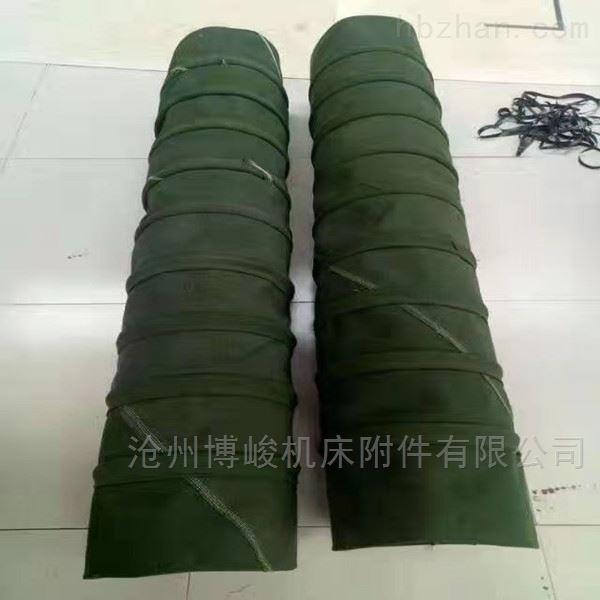 加厚帆布水泥卸料伸缩布袋型号定制