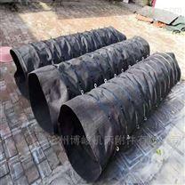 水泥卸灰干灰机帆布耐磨伸缩布袋生产厂家