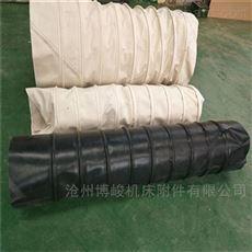 机械输送水泥帆布耐磨伸缩袋生产