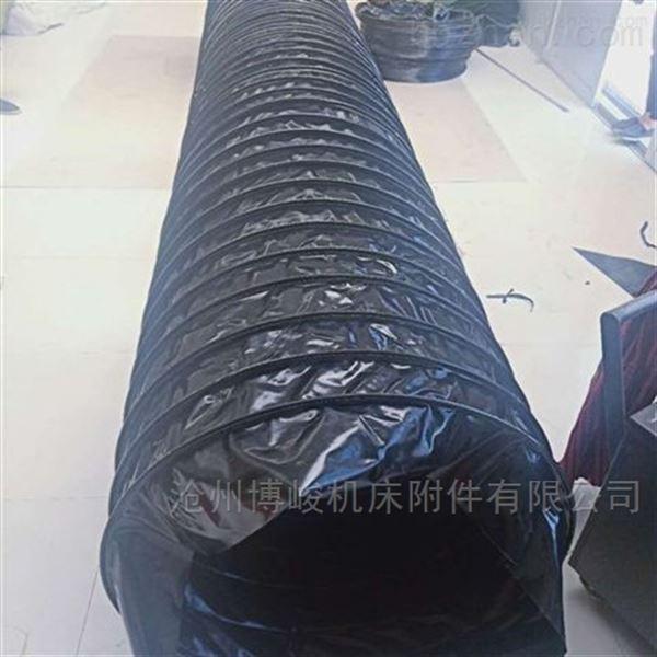 散装机专用水泥收尘帆布卸料伸缩布袋
