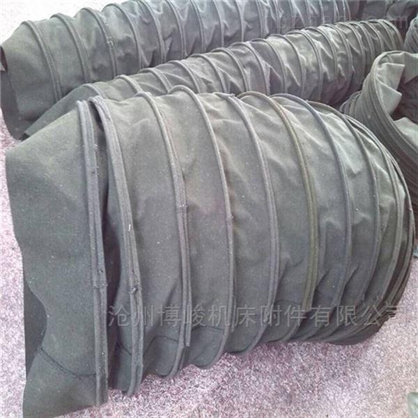 加密帆布收尘伸缩布袋型号定做