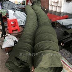 异径帆布收尘伸缩布袋生产销售