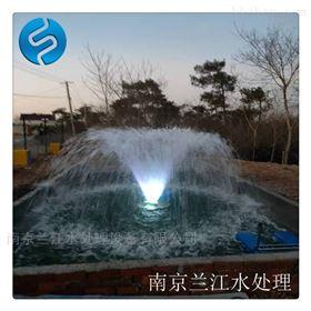 景观湖喷泉