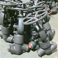 J61H锻钢承插焊截止阀