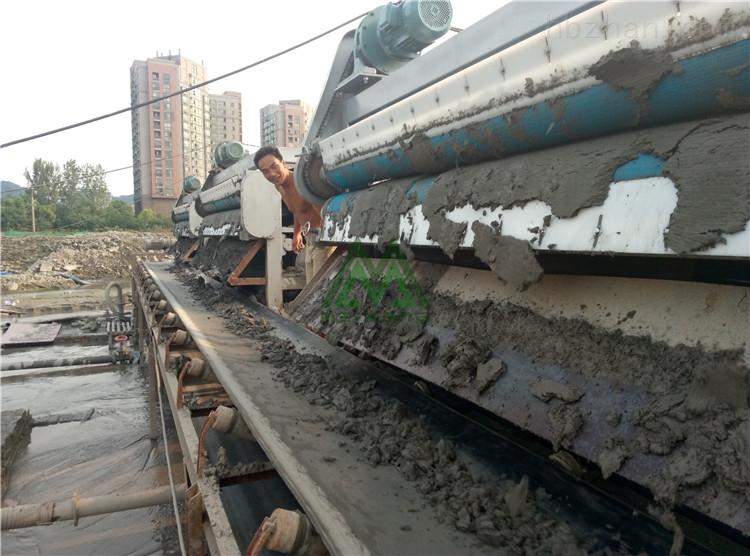洗河沙泥浆处理机洗河沙污泥脱水机好不好