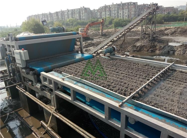 海淀尾矿泥浆干堆设备
