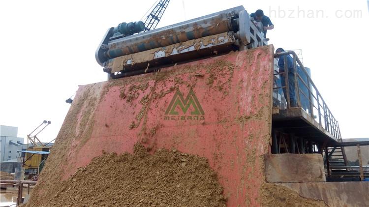 常德机制砂泥浆干堆机