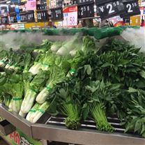 生鲜超市蔬菜喷雾加湿器