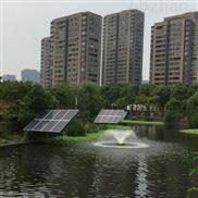 喷泉太阳能浮水式曝气机