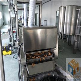 SPYZ-7000推荐新款小麻花油炸挂糖稀生产线