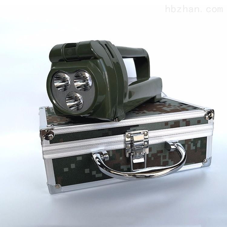 大连  多功能班用强光搜索灯手摇发电探照灯