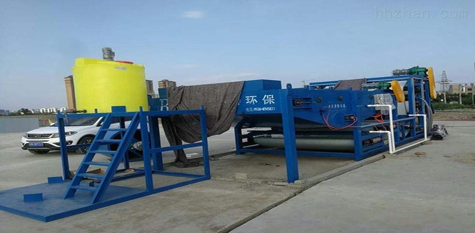洗沙场污泥污水处理成套设备压滤机运行效果达到客户满意