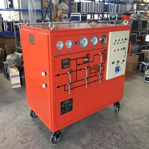高效率SF6气体抽真空充气装置