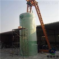 姜堰市一体化雨水提升泵站作用