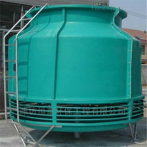 扬州市圆形逆流冷却塔的安装