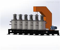 KZTY-40-16连续热压炉真空热压烧结炉