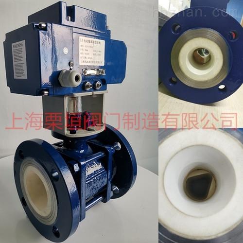 电动微调陶瓷球阀FCCV1-FEICC-16WZZ07