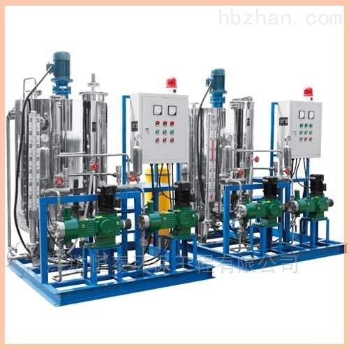 鞍山市锅炉加药装置的工艺流程