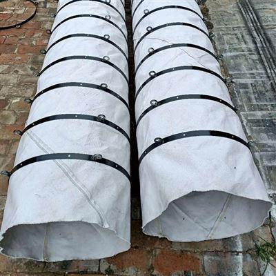 水泥输送帆布散装机伸缩布袋