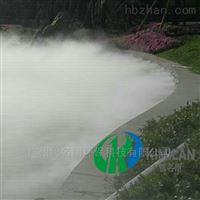 江西古城河道池安装雾森设备