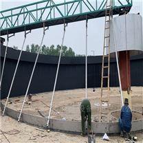 周边传动桥式刮泥机安装