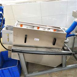 HBR-JDL-30淀粉加工污水处理|叠螺式污泥脱水机|鸿百润