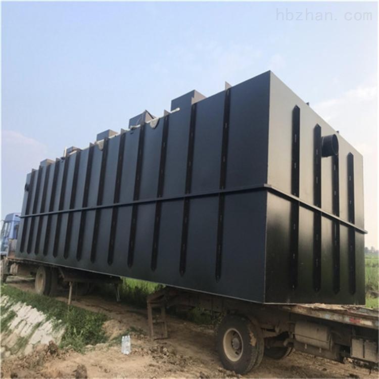 地埋式厂区宿舍生活污水处理设备定制