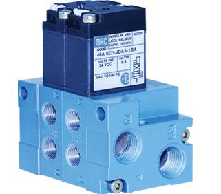 气动回路在充排气过程中,元件内部存在高速流动处(如节流阀及换向图片