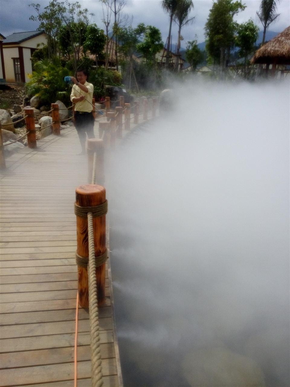 人工湖景观造雾系统