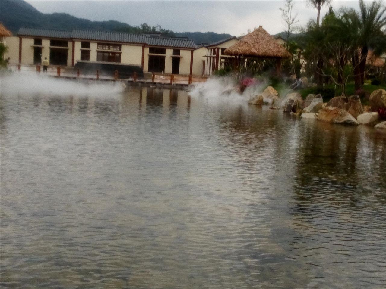 人工湖景观造雾工程