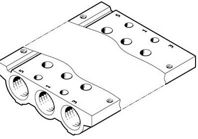 德国festo气路板,festo电磁阀资料图片