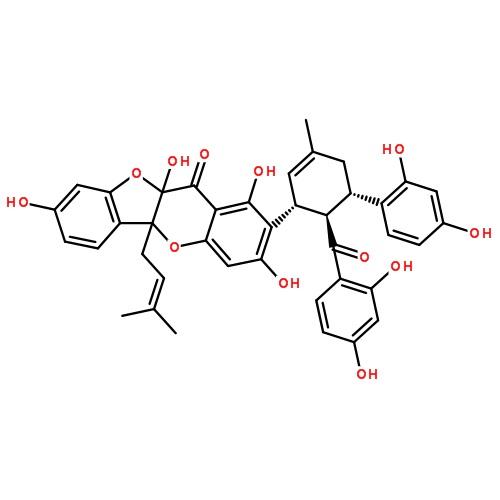 桑根酮d分子结构图