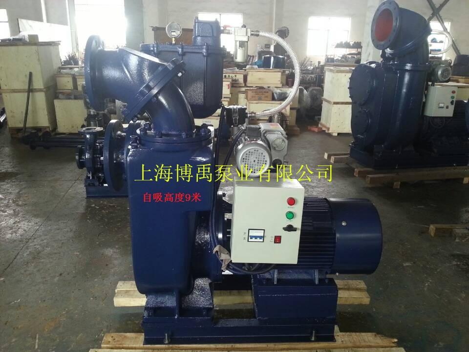 移动泵站用自吸泵