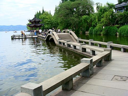 西湖风景区整体照