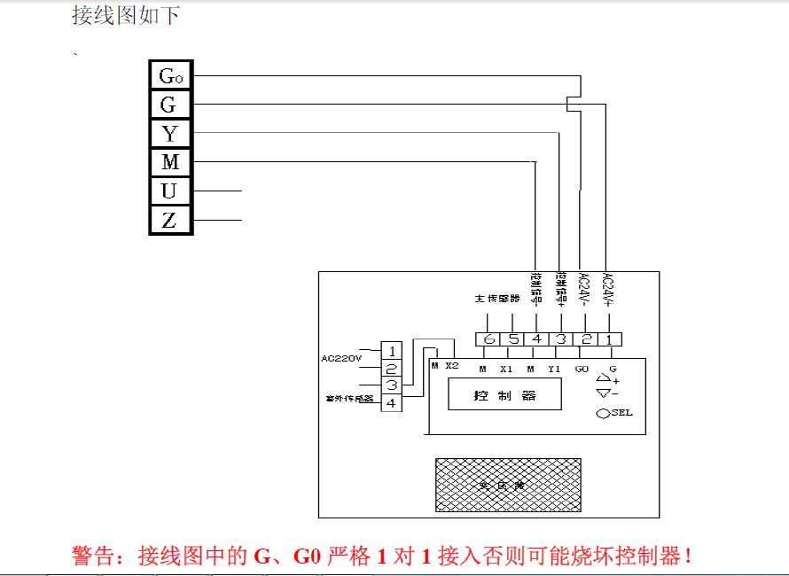 西门子温控阀安装接线图
