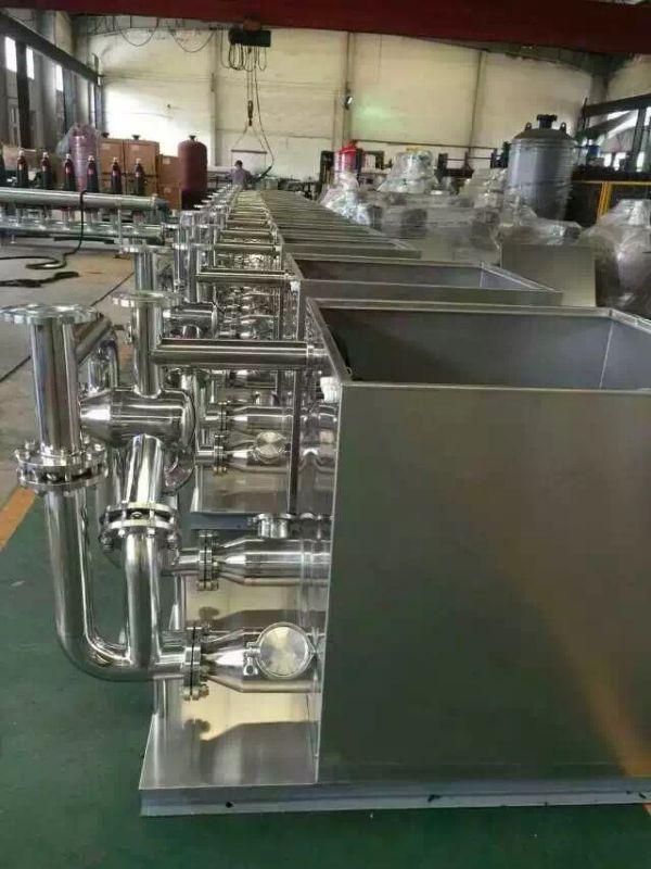 可有效节约泵房空间;   6,密闭式污水提升装置成套供应用户,现场只需