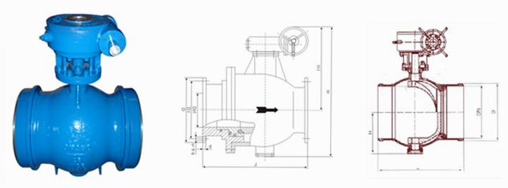 焊接偏心半球阀型号,pq360f焊接半偏心球阀图片图片