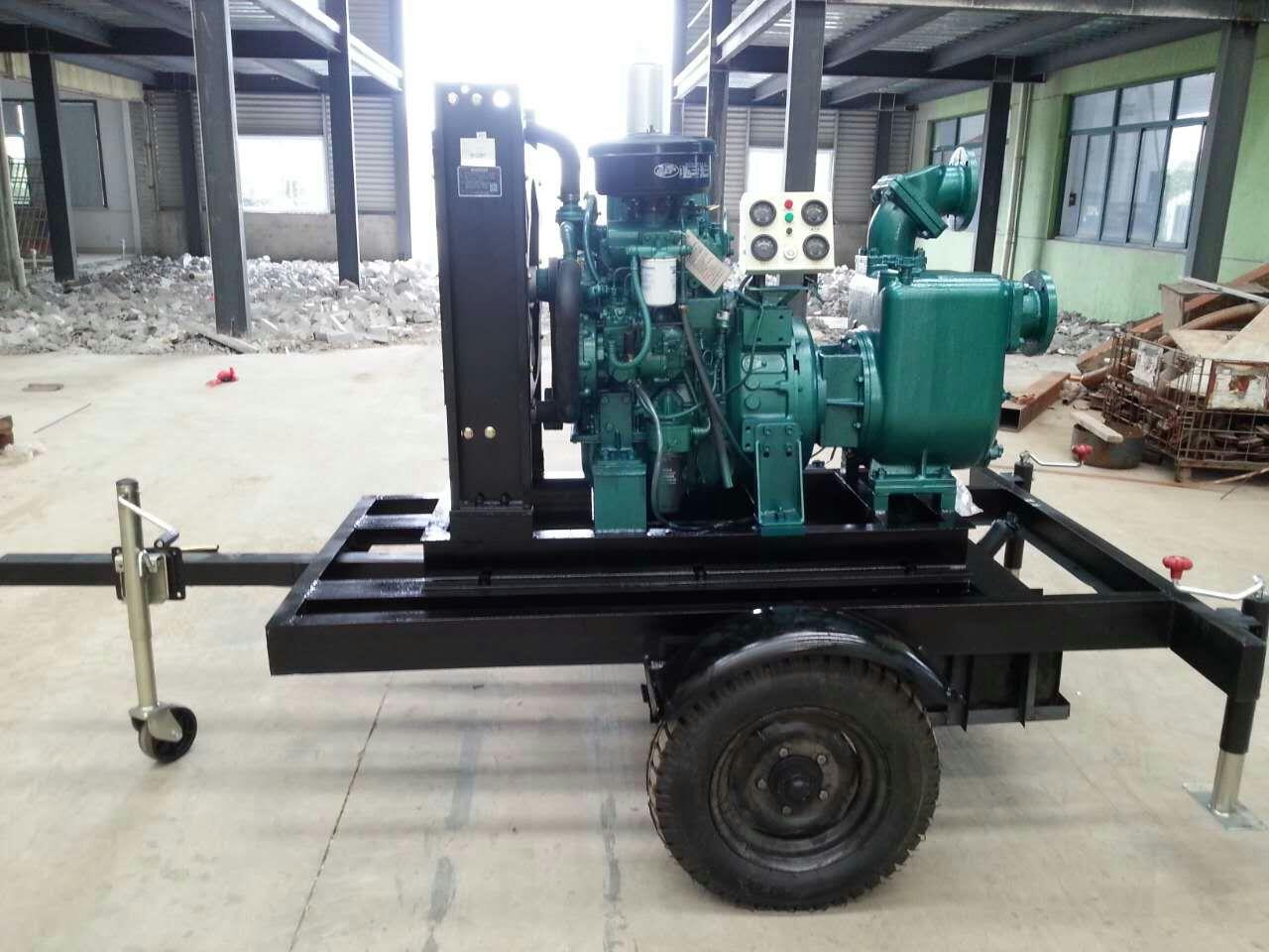 柴油机泵车-上海博禹泵业