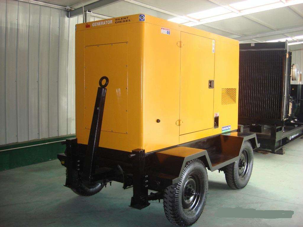 拖车移动泵车