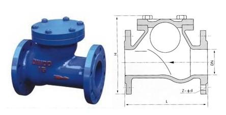 hq41x-球型止回阀图片