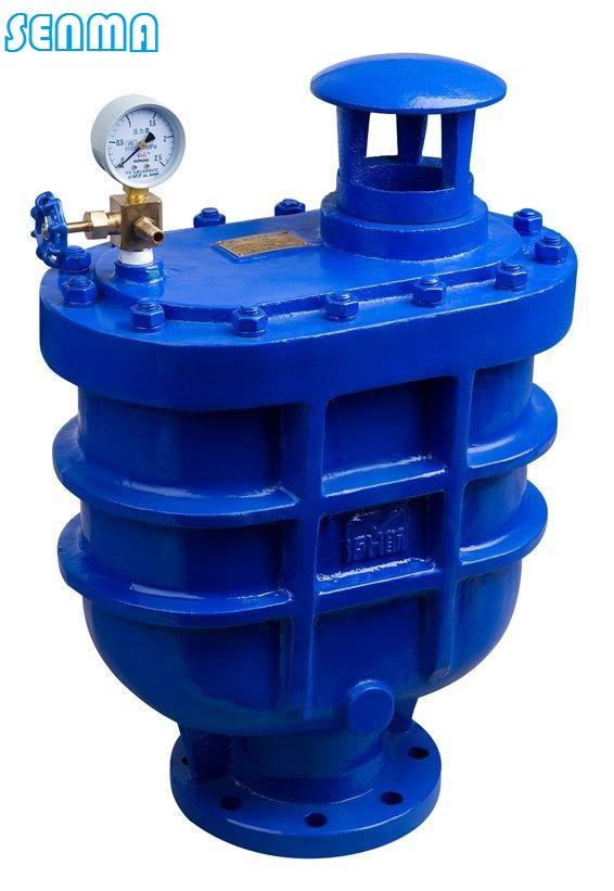 180 155 4-18 carx复合式排气阀每小时排气量表 规格dn 25 50 80 100图片