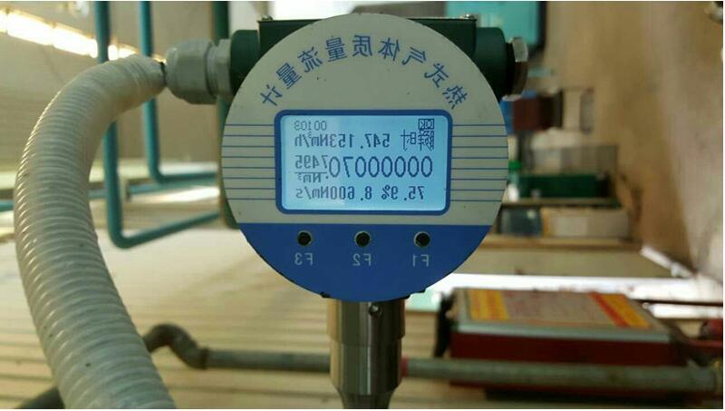 热式气体质量流量表