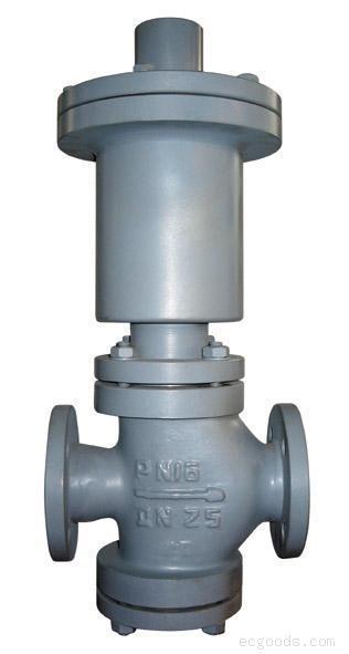 自力式调节阀 > 重油专用自力式调节阀  二,自力式调节阀(重油)结构
