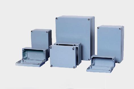 压铸铝防水接线盒 ip68 铸铝端子箱