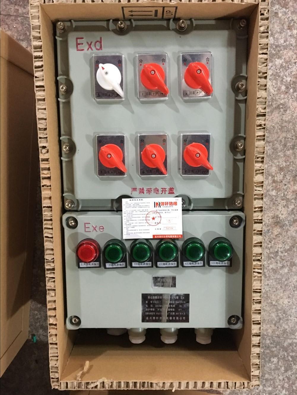 iic级防爆检修电源箱