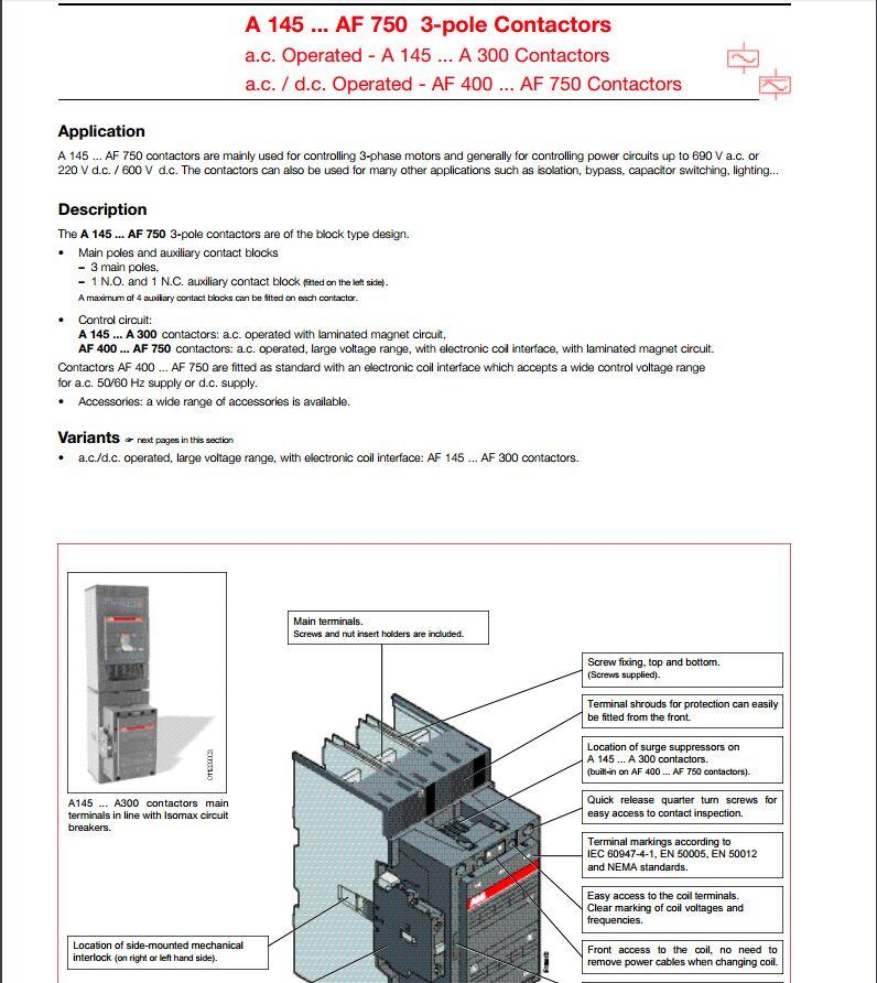 1P ABB S201-B50 Sicherungsautomat B-Char. 50A 6kA