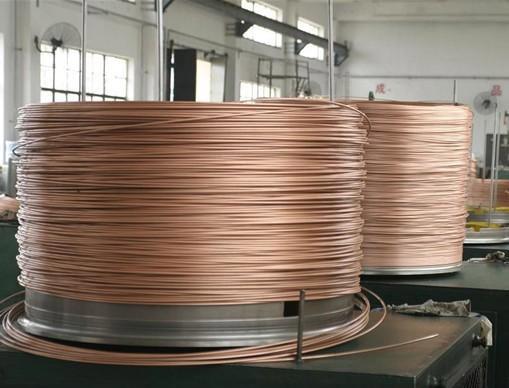 铜棕垫圆线/镀铜钢圆线在说明时应注意事项连接罗汉床包钢图片